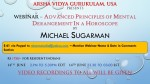 Webinar – Advanced Principles of mental derangement in a horoscopeBy Michael Sugarman
