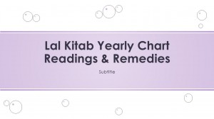 New Year: A Way Forward via Lal kitab