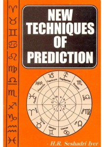 New techniques of prediction part 1&2 by seshadri iyer