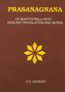 Prasanagnana of Bhattotpala sagar publications astrology books