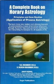 A Complete Book On Horary Astrology by V.K. Choudhry & Rajesh Chaudhary sagar publications astrology books