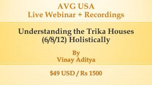 Recordings - Understanding the Trika (6th, 8th and 12th) houses holistically by Vinay Aditya webinar