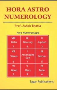 HORA ASTRO NUMEROLOGY By Ashok Bhatia sagar publications astrology books