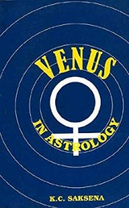 Venus in Astology By K.C Saksena sagar publications astrology books