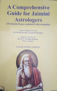 A Comprehensive Guide for Jaimini Astrologers (38 Jaimini Dasas explained with examples) | K V pratap kumar | Jaimini Astrology