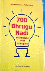 700 Bhrugu Nadi ( Techniques With Examples )