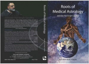Roots of Medical Astrology By Jaitender Pal Singh Sandhu  sagar publications astrology books