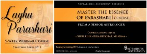 Recordings of - A Course In Laghu Parasari - The Ancient Classic Considered The Gita Of Astrology