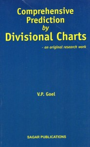 Comprehensive Prediction by Divisional Charts  by V P Goel sagar publications astrology books
