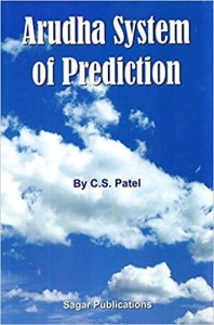 Arudha System of Prediction by C S Patel sagar publications astrology books