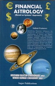 Financial Astrology By K Rajesh Chaudhary/ Vinod Kumar Choudhary sagar publications astrology books