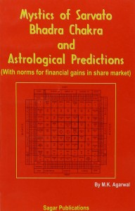 Mystics Of Sarvato Bhadrachakra & Astrological Prediction by M K Agarwal sagar publications astrology books