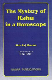 The Mystery Of Rahu In Horoscope By Shivraj Sharma [Eng] [SP]