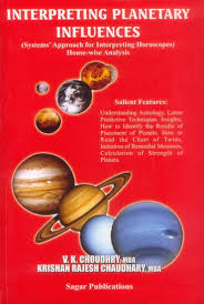 Interpreting Planetary Influences by V K Chodhry sagar publications astrology books