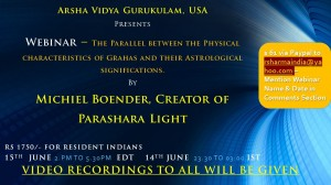 Webinar – The Parallel between the Physical characteristics of Grahas and their Astrological significations.
