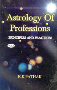 Astrology Of Profession (Vol 1 & 2) By K.K Pathak [AP]