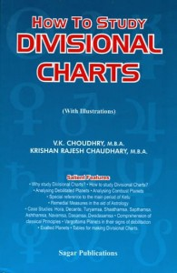How To Study Divisional Charts By V.k. Choudhary sagar publications astrology books