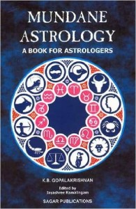 Mundane Astrology By K.B. Gopala Krishnan sagar publications astrology books