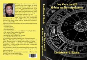 Easy Way to leran  KP rules and Bhava Signification by Kanakkumar B.Bosmia