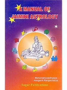 A Manual of Jaimini Astrology by Iranganti Rangacharya | Iranganti Rangacharya | Astrology Book | saptarishisshop.com