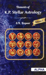 Elements Of K.P.Stellar Astrology  vol:-1&2 by S.K.Kapoor