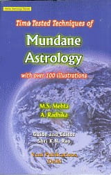 Time Tested Techniques Of Mundane Astrology by k n rao
