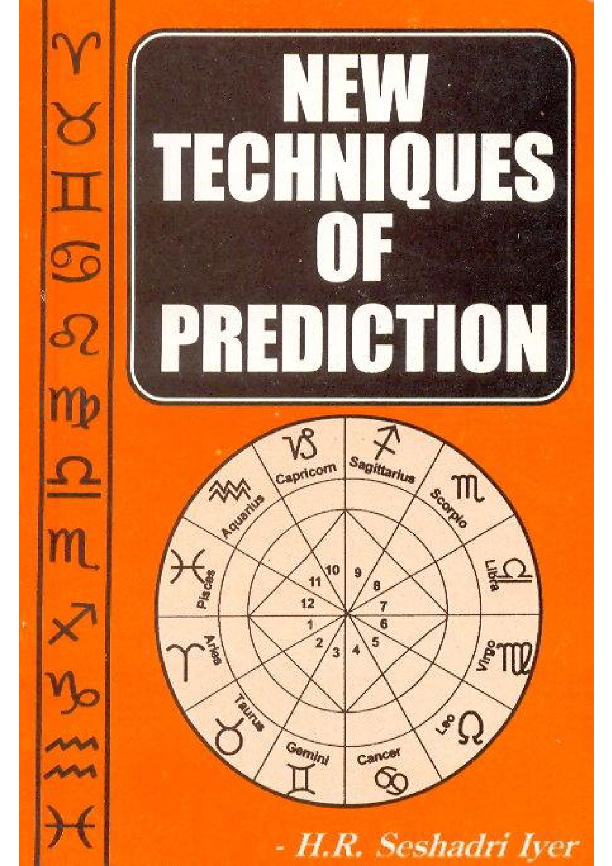 new techniques of prediction by hr seshadri iyer