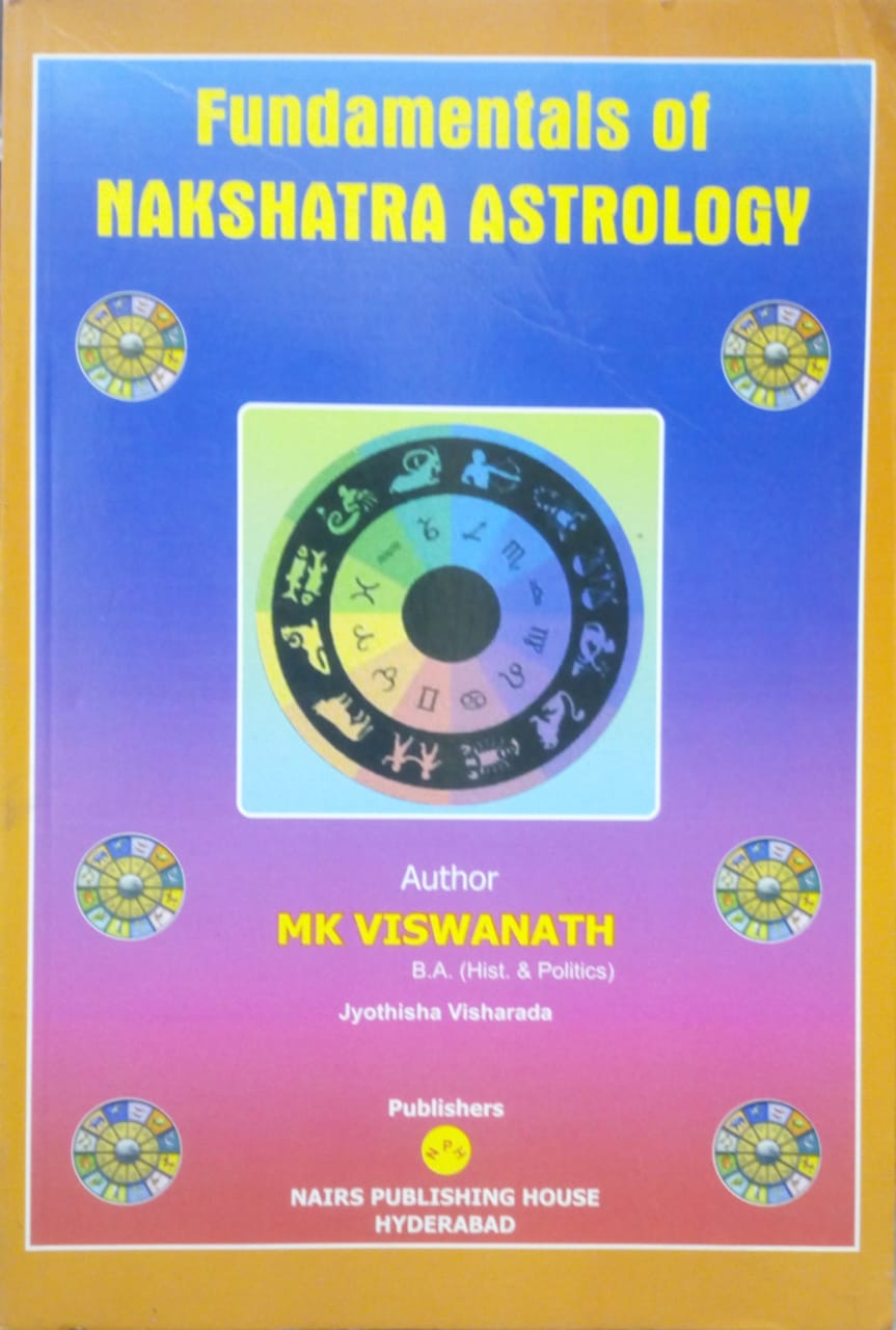 Fundamentals of Nakshatra Astrology By M K Viswanath [NP]