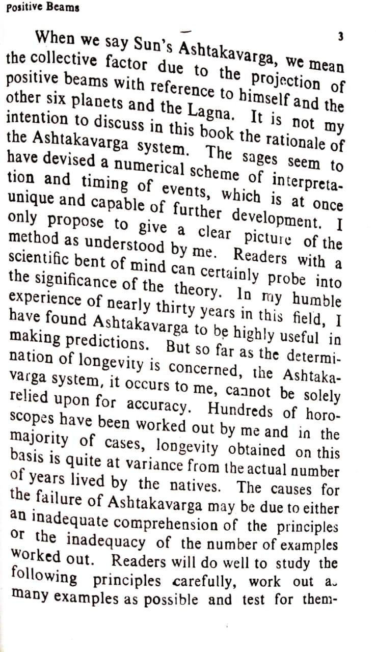 Ashtakavarga System Of Prediction By B V Raman Download