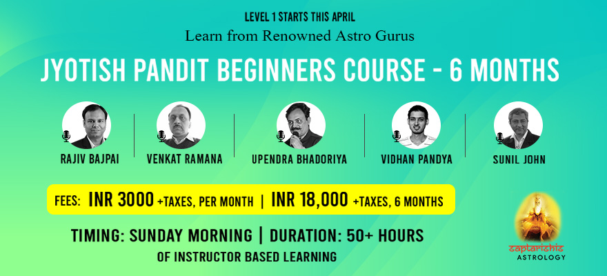 Jyotish Pandit Beginners Course Level 1